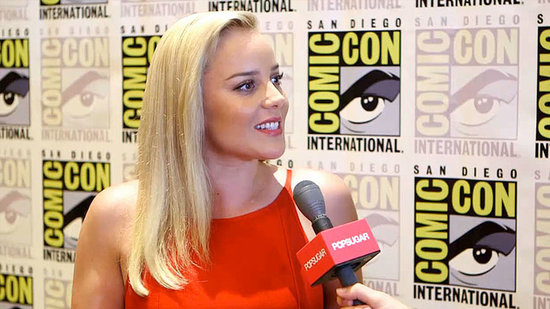"Abbie Cornish Jokes About Being ""Mrs. RoboCop"" in the Reboot"