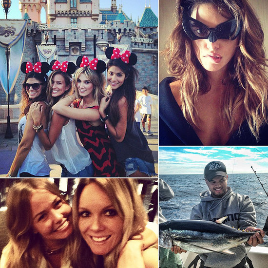 Disneyland Fun, Fishing Adventures and More of This Week's Cute Celebrity Candids