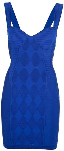 Balmain fitted mini dress