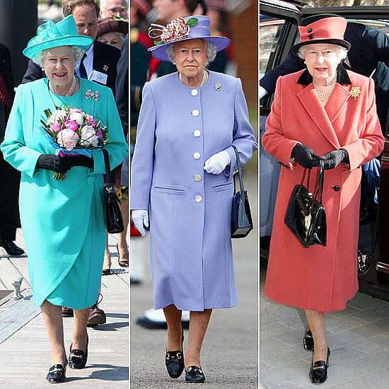 Have you ever noticed how Queen Elizabeth II is one for monochromatic ensembles?