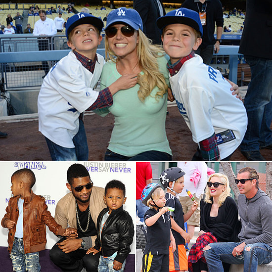No Girls Allowed! 12 Celeb Families Where Little Boys Abound