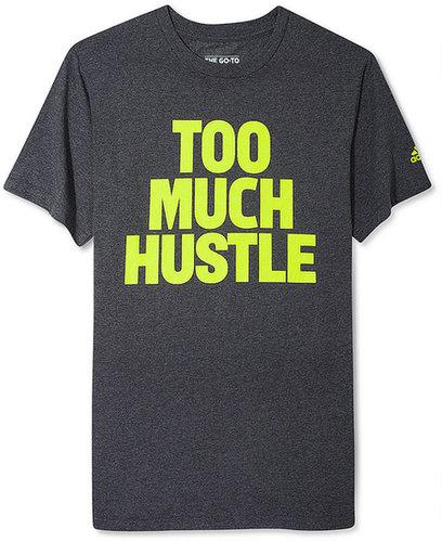 adidas Shirt, Too Much Hustle T Shirt