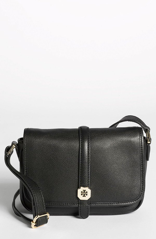Keep things practical with Tory Burch's simple black crossbody ($264, originally $395).