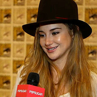 Shailene Woodley Divergent Interview at Comic-Con | Video