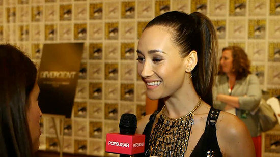 What Makes Maggie Q Geek Out at Comic-Con?