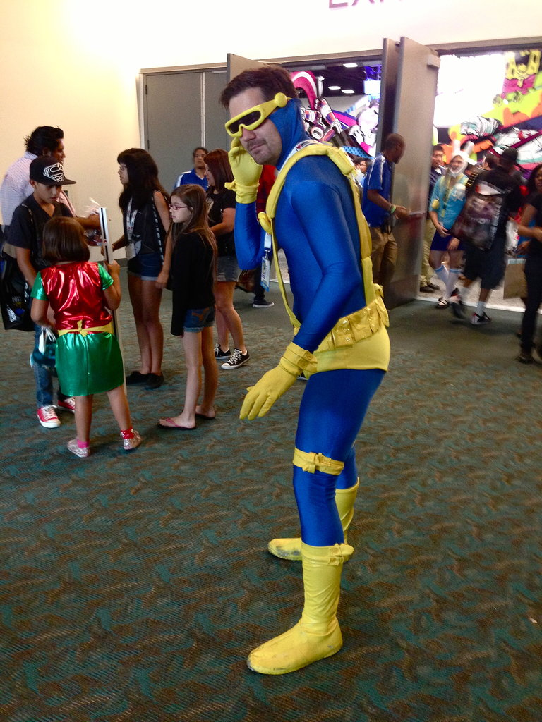 Cyclops prepares for his next move.