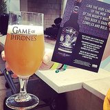 "The Game of Thrones Black Stout: ""As dark, complex, and bold as the men of the Night's Watch."" Tasty."