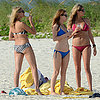 Cameron Diaz and Kate Upton Wearing Bikinis in the Bahamas