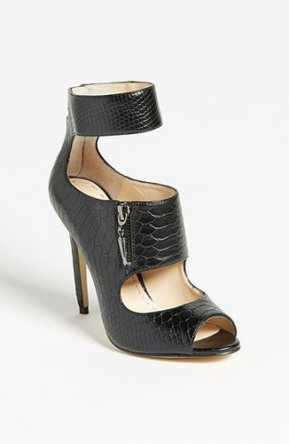 Enzo Angiolini 'Nyambi' Pump (Nordstrom Exclusive) Black Crocodile 5.5 M
