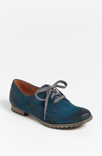 Naya 'Tiber' Flat (Exclusive Color) Military Blue Suede 7.5 M