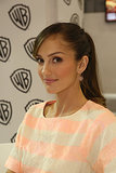 Minka Kelly looked cute in a ponytail at a fan signing for Almost Human.