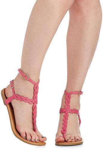Twisting Pathways Sandal