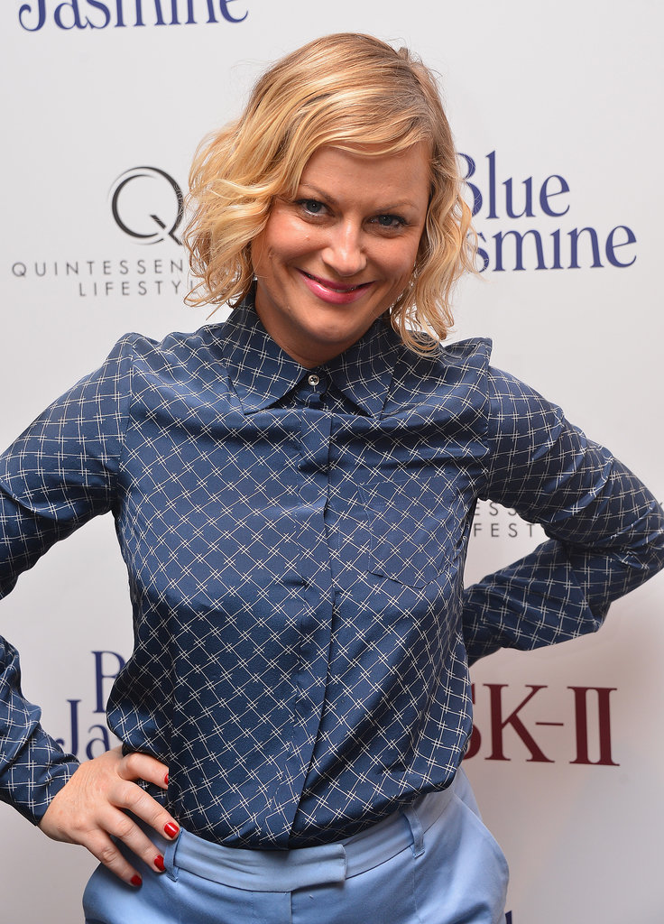 Amy Poehler was all smiles at the NYC premiere of Blue Jasmine.