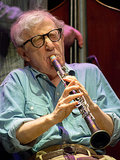Woody Allen took the stage with the New Orleans Jazz Band for a concert in Antibes.