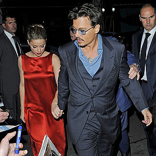 Johnny Depp and Amber Heard Hold Hands in London