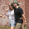 Jennifer Lopez and Casper Smart Hug in the Hamptons