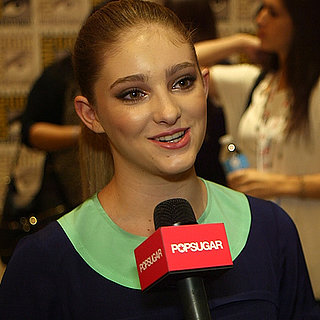 Willow Shields Interview For Catching Fire