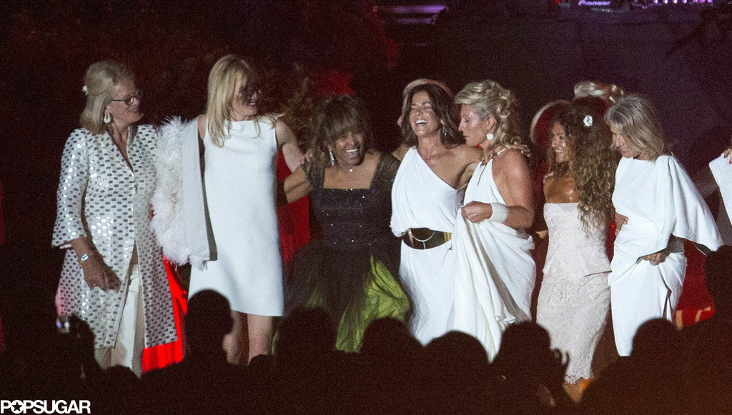 See Tina Turner's Star-Studded Wedding Party!