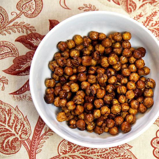 Crunchy: Roasted Honey Cinnamon Chickpeas