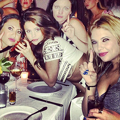 Selena Gomez 21st Birthday Celebrations Pictures