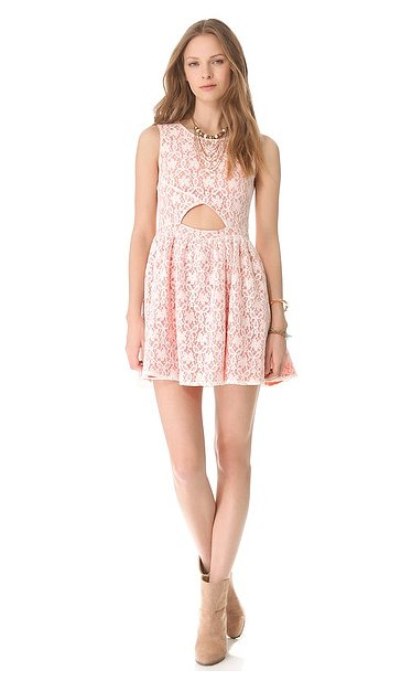 This flirty Minkpink fanciful dress ($62, originally $88) would make the perfect Summer party dress.