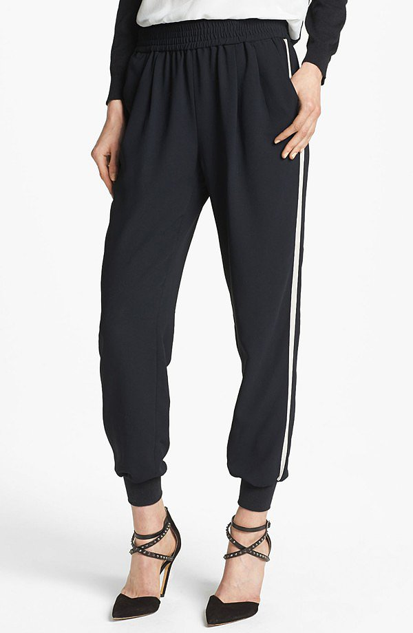 After coveting these slouchy-cool Joie pants ($110, originally $168) on various chic ladies, we're thr