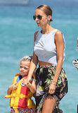 Nicole Richie and Harlow Madden held hands in the South of France.