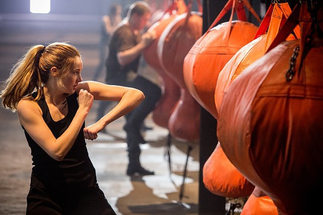 Tris trains hard.