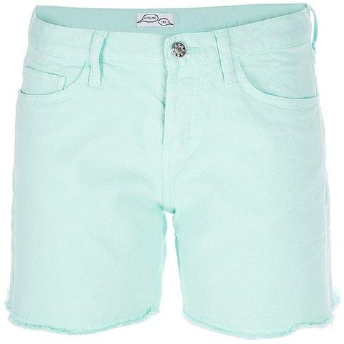 Kitsuné Tee denim shorts