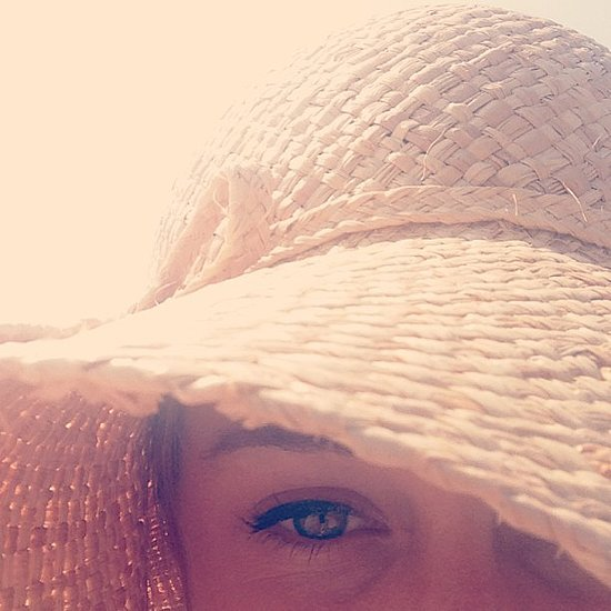 Lauren Conrad shared this up close shot during an afternoon at the beach. Source: Instagram user laurenconrad