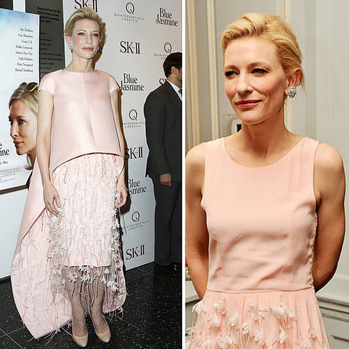 Cate Blanchett in Balenciaga at the Blue Jasmine premiere