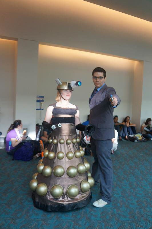 Dalek and Ten