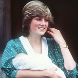 Diana and Kate Both Wear Polka Dots To Debut Their Babies