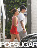 Jennifer Lopez and Casper Smart held hands in the Hamptons.
