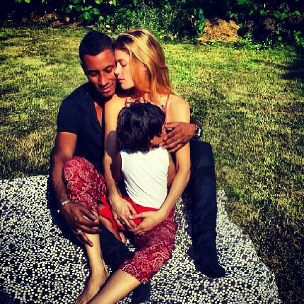 Doutzen Kroes shared an adorable photo of h