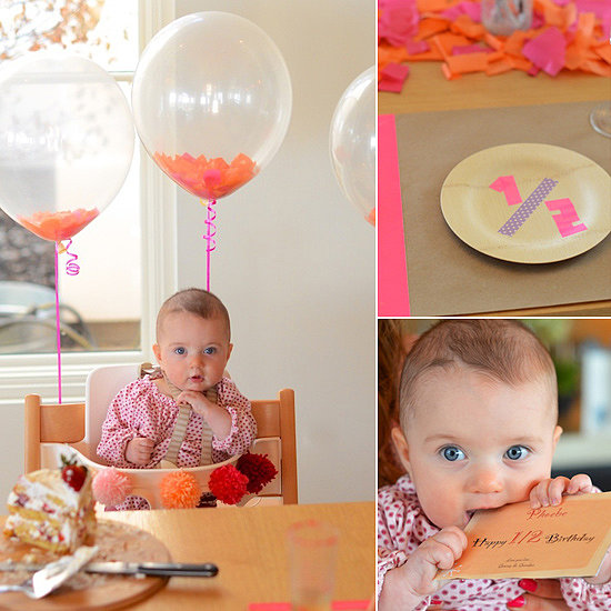 Half-Birthday Place Settings