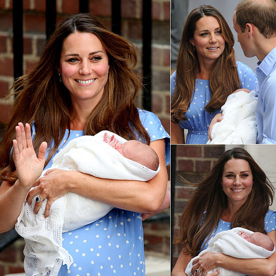 20 Pictures of Kate Middleton's Perfect Hospital Hair