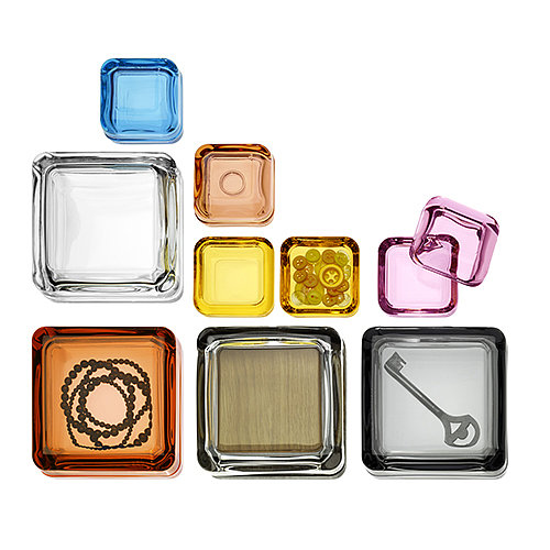 Elevate storage to an art form with these little glass boxes (from $36).