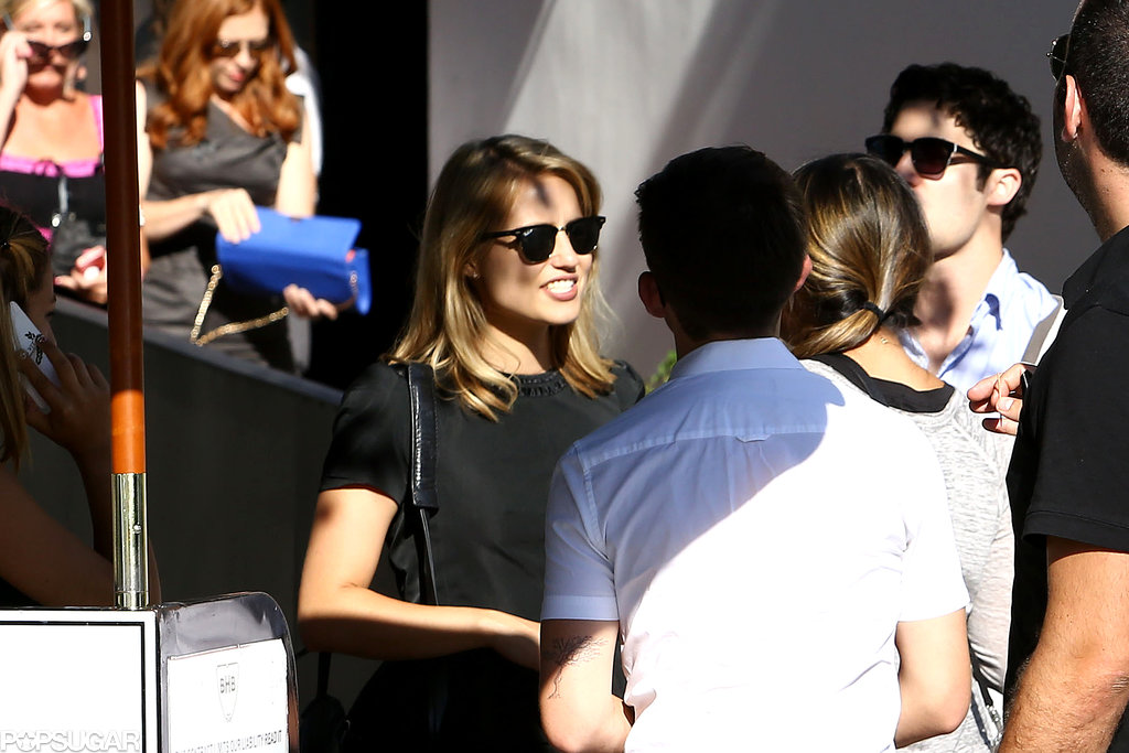Glee Cast Meets For Cory Monteith's Memorial | Pictures ...