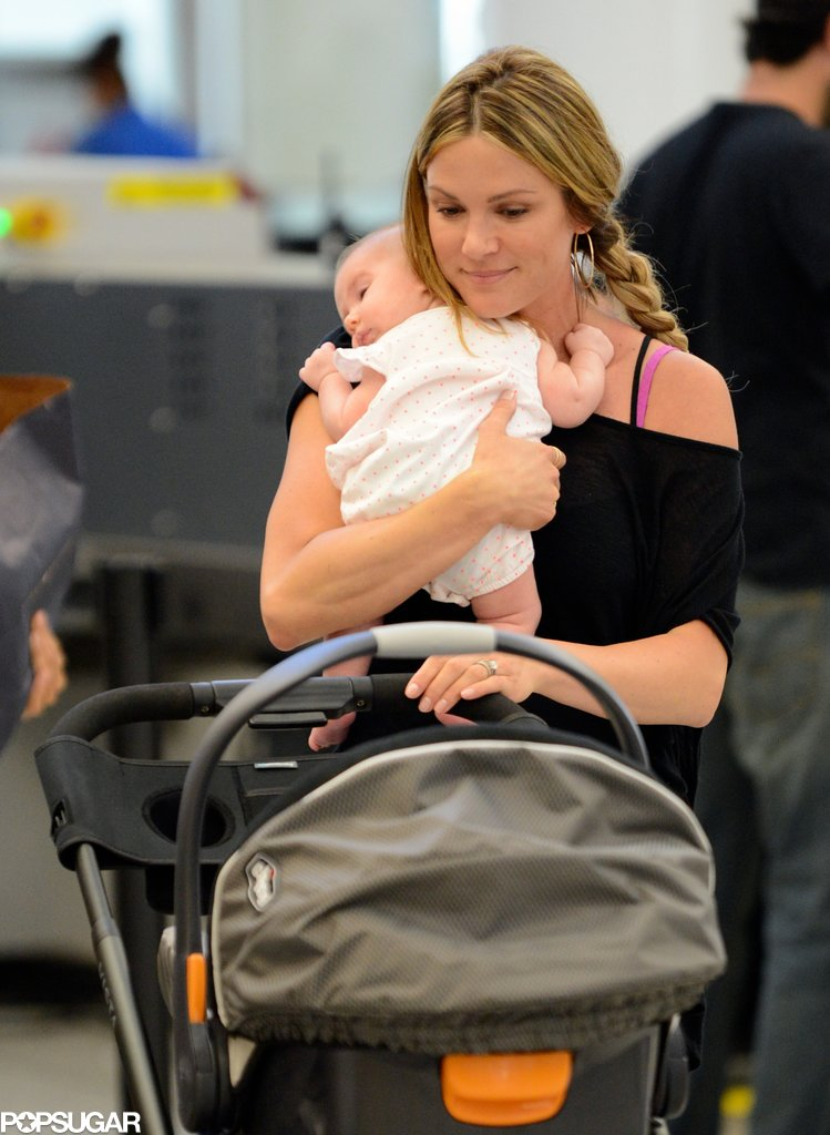 Danneel Harris Jet-Sets With Baby Justice Jay Ackles