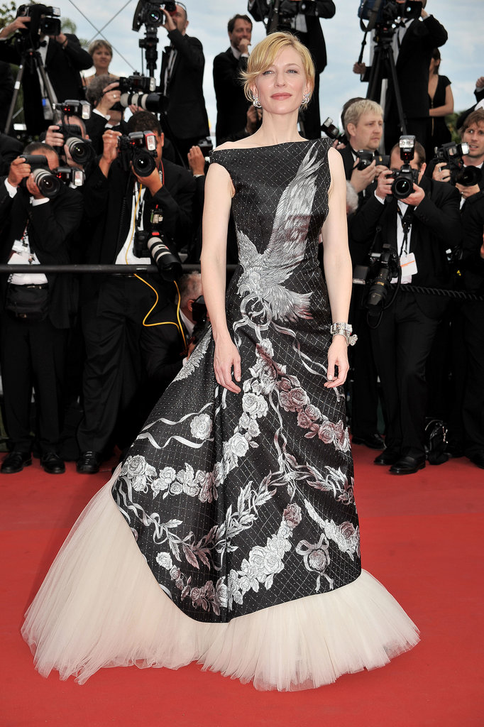 Cate Blanchett in Alexander McQueen at the 2010 Cannes Film Festival
