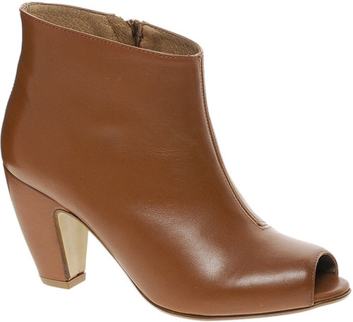 ASOS ANDES Leather Ankle Boots