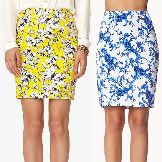 Prints, Please! Pencil Skirts Under $70