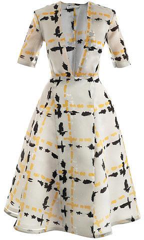 Emilia Wickstead Eady silk dress