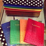 With these passport cases from Talbots, even your travel documents will be styling.