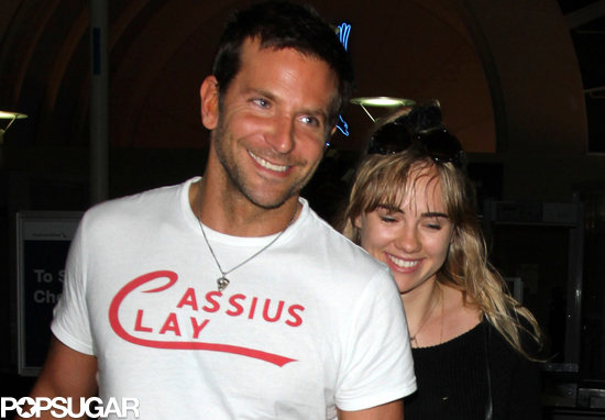 Bradley Cooper and Suki Waterhouse Wrap Up a Quick Jaunt to Hawaii
