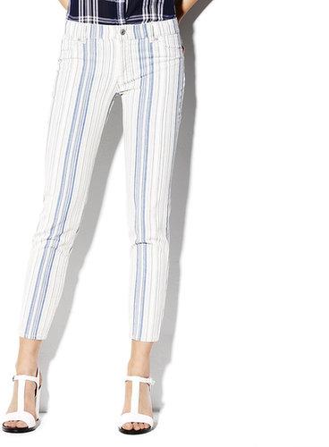 Variegated Stripe Jean