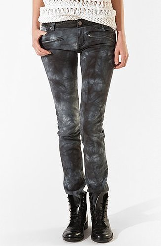 maje 'Arno' Tie Dye Skinny Jeans Womens Blue Size 38 38