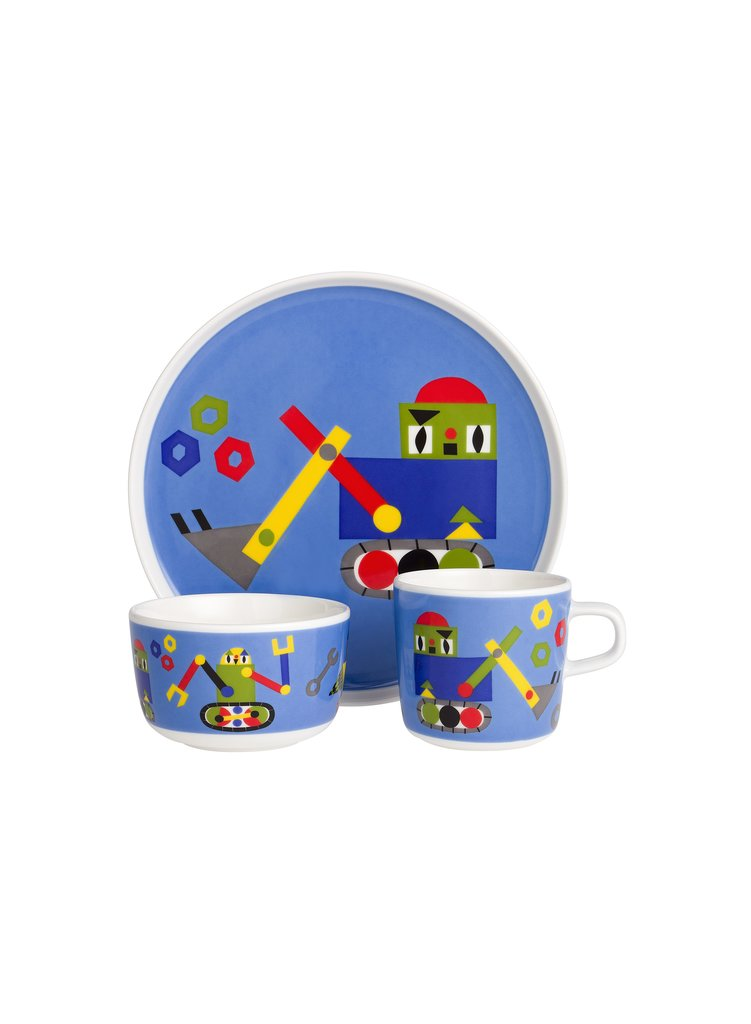 Jakari kids table setting ($78)