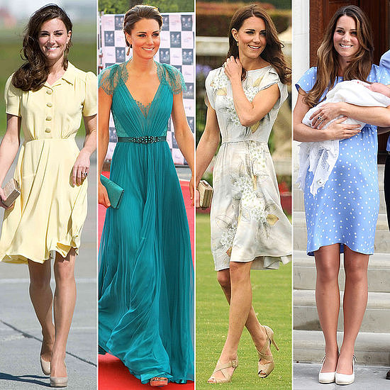 It's also no secret that Kate loves a Jenny Packham gown — see all her glamorous looks right here.